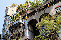 Hundertwasser-Haus Kegelgasse/Löwengasse, Wien, Österreich<br /> Hundertwasser House Kegelgasse/Löwengasse , Vienna, Austria