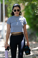 Lucy Hale Works Up A Sweat On Her Daily Hike In Studio City
