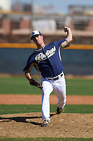 San Diego Padres pitcher Ryan Atwood (81) during an instructional league game against the Texas Rangers on October 9, 2015 at the Surprise Stadium Training Complex in Surprise, Arizona.  (Mike Janes/Four Seam Images)