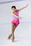 Xu Han Zhou of China competes in Basic Novice Subgroup A Girls group during the Asian Open Figure Skating Trophy 2017 on August 02, 2017 in Hong Kong, China. Photo by Marcio Rodrigo Machado / Power Sport Images