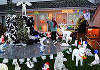 2017 11 21 Christmas house, Kilgetty, Wales, UK