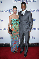 NEW YORK CITY, NY, USA - MAY 01: Bethany Hotchkiss, Sharif Atkins at the Operation Smile Event held at Cipriani Wall Street on May 1, 2014 in New York City, New York, United States. (Photo by Jeffery Duran/Celebrity Monitor)