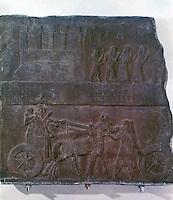 Assyria: Tiglath-pileser III of Assyria.  Biblical History in Assyrian Sculpture.  Trustees of the British Museum 1986.
