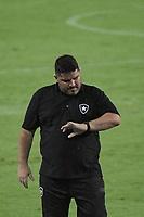 RIO DE JANEIRO (RJ) - 05/02/2021 - BOTAFOGO-SPORT - Técnico Eduardo Barroca. Partida entre Botafogo e Sport, válida pela 34ª rodada do Campeonato Brasileiro 2020, realizada no Estádio Nilton Santos (Engenhão), no Rio de Janeiro, nesta sexta (05).