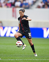 Carli Lloyd. The USWNT defeated Mexico, 1-0, during the game at Red Bull Arena in Harrison, NJ.