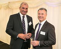 Mark Philpott (left) of Robert Ellis Estate Agents and Graham Webster of Savills