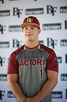 Alexander Maximus Briggs (1) of Canutillo High School in EL Paso, Texas during the Baseball Factory All-America Pre-Season Tournament, powered by Under Armour, on January 12, 2018 at Sloan Park Complex in Mesa, Arizona.  (Zachary Lucy/Four Seam Images)