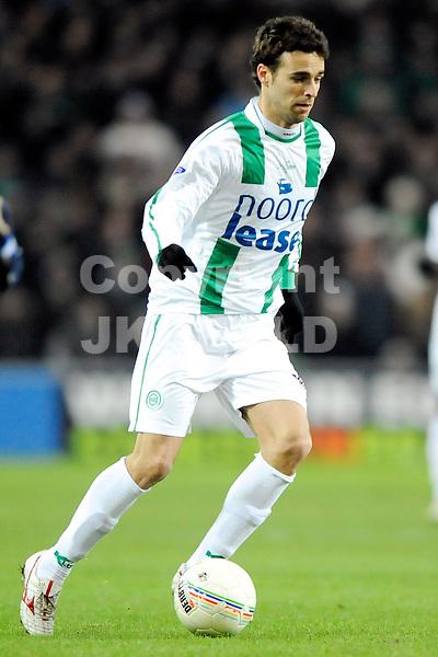 voetbal fc groningen - sc heerenveen eredivisie seizoen 2008-2009 28-12-2008  . . . .