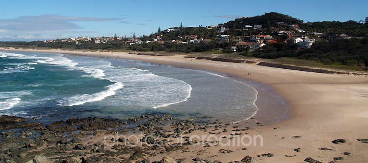 One of the many beaches that provide Port Macquarie with its beauty