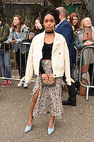 Yara Shahidi<br /> arrives for the Topshop Unique AW17 show as part of London Fashion Week AW17 at Tate Modern, London.<br /> <br /> <br /> ©Ash Knotek  D3232  19/02/2017