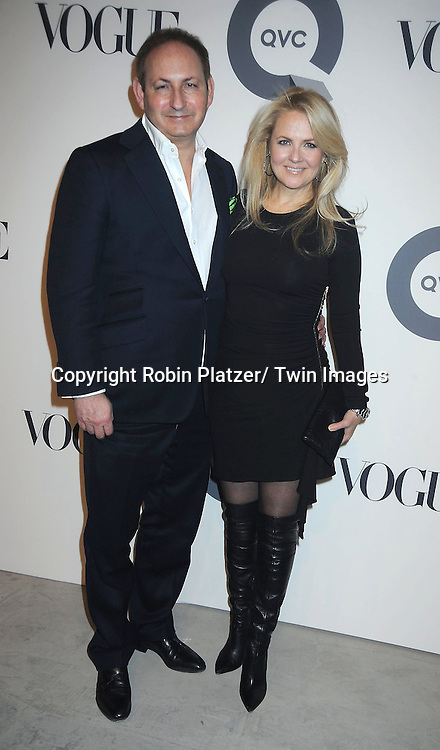 John Demsey and Cornelia Guest attending The QVC and Vogue Fashion Week Party on February 11, 2011 at 229 West 43rd Street in New York City.
