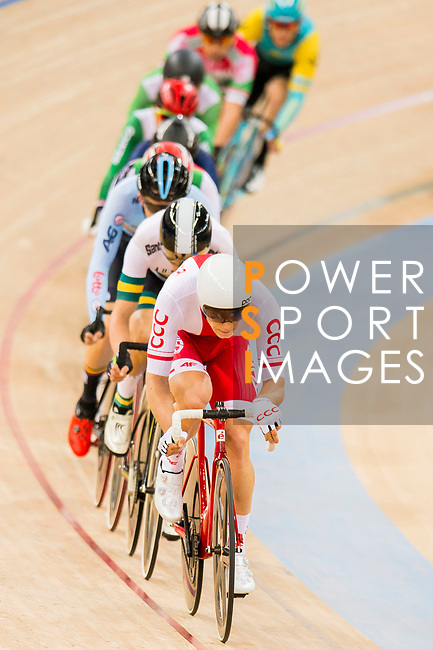Adrian Teklinski of the Poland team competes in the Men's Scratch Race Final as part of the 2017 UCI Track Cycling World Championships on 13 April 2017, in Hong Kong Velodrome, Hong Kong, China. Photo by Marcio Rodrigo Machado / Power Sport Images