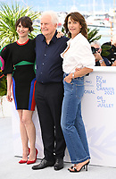CANNES, FRANCE. July 8, 2021: Geraldine Pailhas, Andre Dussollier & Sophie Marceau at the photocall for Everything Went Fine at the 74th Festival de Cannes.<br /> Picture: Paul Smith / Featureflash
