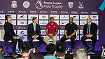 From Left to Right: Richard Masters, Phil Babb, Mark Bright, and Mark Sutcliffe attend the press conference for the Premier League Asia Trophy 2017 at the Grand Hyatt Hong Kong on 01 June 2017 in Hong Kong, China. Photo by Chris Wong / Power Sport Images.