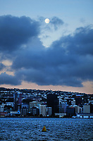 Wellington CBD at 7.15am during Level 4 lockdown for the COVID-19 pandemic in Wellington, New Zealand on Tuesday, 24 August 2021.