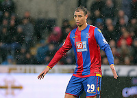 Marouane Chamakh of Crystal Palace during the Barclays Premier League match between Swansea City and Crystal Palace at the Liberty Stadium, Swansea on February 06 2016