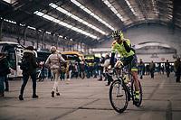 off to teh start<br /> <br /> 74th Omloop Het Nieuwsblad 2019 <br /> Gent to Ninove (BEL): 200km<br /> <br /> ©kramon
