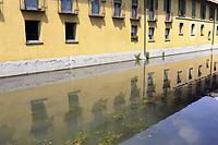- Milano, Naviglio Martesana<br /> <br /> - Milan, the Naviglio Martesana canal