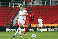 13th April 2021; Bet365 Stadium, Stoke, England; Millie Bright  England during the womens International match between England and Canada
