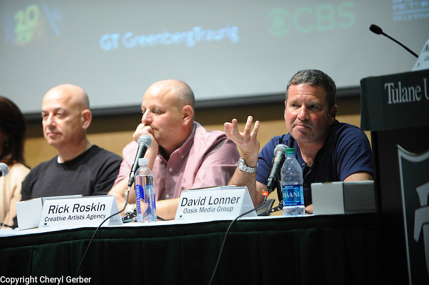 Tulane to Hollywood panel discussion