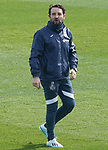 Getafe CF's coach Jose Bordalas during training session. February 17, 2021.(ALTERPHOTOS/Acero)