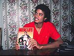 Michael Jackson 1981 at his Encino Condo