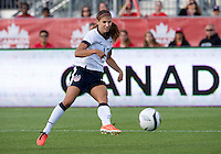 02 June 2013: U.S. Woman's National Team forward Alex Morgan #13 in action during an International Friendly soccer match between the U.S. Women's National Soccer Team and the Canadian Women's National Soccer Team at BMO Field in Toronto, Ontario.<br /> The U.S. Women's National Team Won 3-0.