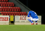 St Johnstone v Hamilton Accies…30.12.20   McDiarmid Park     SPFL<br />Jamie McCart reacts at full time<br />Picture by Graeme Hart.<br />Copyright Perthshire Picture Agency<br />Tel: 01738 623350  Mobile: 07990 594431
