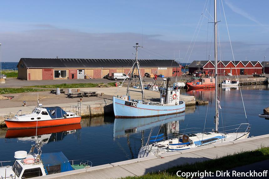 Hafen von Hasle auf der Insel Bornholm, Dänemark, Europa<br /> Port of Hasle, Isle of Bornholm Denmark