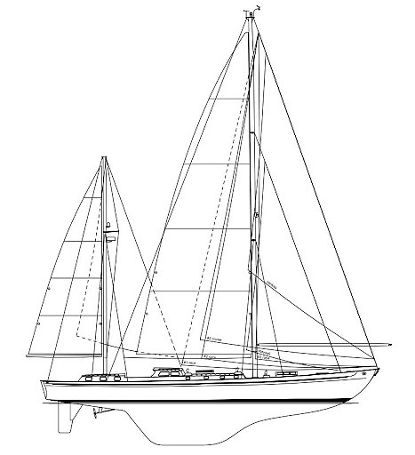 Stormvogel's hull profile was ahead of its time when she first appeared in 1961.