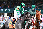 14 April 2011.  #7 Friscan and Rosie Napravnik win the 2nd race at Keeneland, Maiden for 2 year olds.