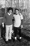 GIG PROIETTI CON RENZO GARLASCHELLI - STADIO MAESTRELLI ROMA 1978