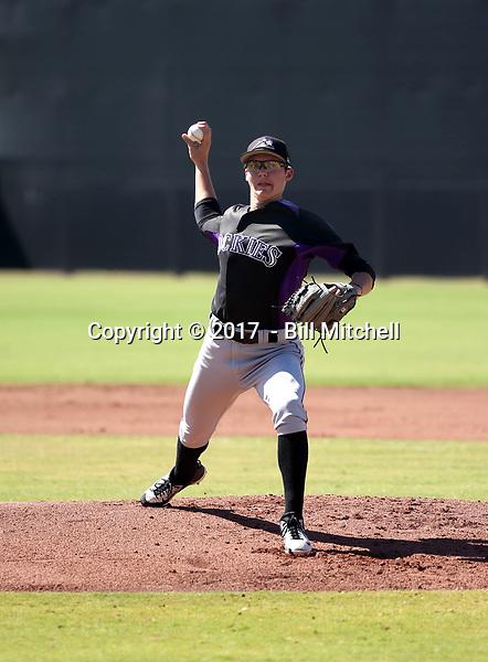 Garrett Schilling - 2017 AIL Rockies (Bill Mitchell)
