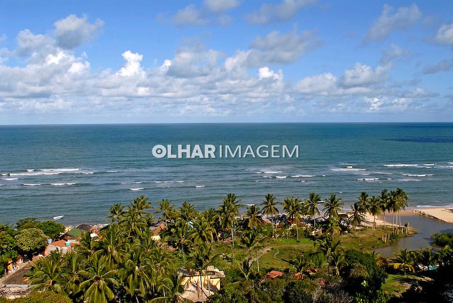Praia em Arraial D'Ajuda. Bahia. 2007. Foto de Ricardo Azoury.