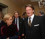EMMA BONINO CON L'AMBASCIATORE MICHAEL GERDTS <br /> PARTY  PER LA PRESIDENZA DEL CONSIGLIO D'EUROPA<br /> RESIDENZA DELL'AMBASCIATORE TEDESCO - VILLA ALMONE     ROMA 2007
