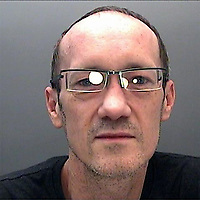 Pictured: Adam Callard<br /> Re: Adam Callard beat-up his partner, choked her, and then fired a crossbow at her head during a drunken attack, Swansea Crown court has heard.<br /> Callard had spent the days before the assault sending the woman abusive text messages and telling her he was bleeding to death after cutting his finger.<br /> When she went to check on his welfare, he attacked her.<br /> The Court heard police had seized a haul of weapons from him four months before the incident, but no further action seemed to have been taken.