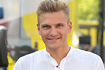 Nice to see Marcel Kittel (GER) doing some TV punditry at the end of Stage 10 of the 2019 Tour de France running 217.5km from Saint-Flour to Albi, France. 15th July 2019.<br /> Picture: Colin Flockton | Cyclefile<br /> All photos usage must carry mandatory copyright credit (© Cyclefile | Colin Flockton)