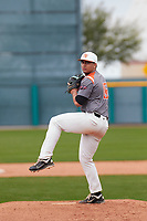 Tyson Banks (16) of Permian High School in Odessa, Texas during the Under Armour All-American Pre-Season Tournament presented by Baseball Factory on January 15, 2017 at Sloan Park in Mesa, Arizona.  (Freek Bouw/MJP/Four Seam Images)