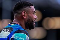 20th March 2021; Recreation Ground, Bath, Somerset, England; English Premiership Rugby, Bath versus Worcester Warriors; Joe Cokanasiga of Bath