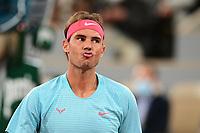 11th October 2020, Roland Garros, Paris, France; French Open tennis, mens singles final 2020; Rafael Nadal Esp