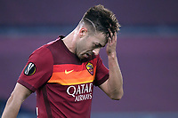 Stephan El Shaarawy of AS Roma reacts during the Europa League round of 32 2nd leg football match between AS Roma and Sporting Braga at stadio Olimpico in Rome (Italy), February, 25th, 2021. Photo Andrea Staccioli / Insidefoto