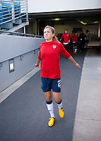 Kristie Mewis.  The USWNT defeated Scotland, 4-1, during a friendly at EverBank Field in Jacksonville, Florida.