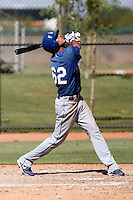 Pedro Guerrero - Los Angeles Dodgers 2009 Instructional League. .Photo by:  Bill Mitchell/Four Seam Images..