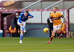 Motherwell v St Johnstone…28.11.20   Fir Park      BetFred Cup<br />David Wotherspoon shoots wide<br />Picture by Graeme Hart.<br />Copyright Perthshire Picture Agency<br />Tel: 01738 623350  Mobile: 07990 594431