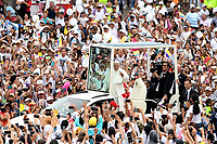 VILLAVICENCIO -COLOMBIA , 8- 09-2017.Llegada del Papa Francisco a la capital del  llano colombiana./Arrival of Pope Francisco to the capital of the Colombian plain Photo: VizzorImage / Cristian Álvarez / Contribuidor