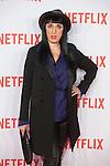 Rossy de Palma attends Netflix presentation in Madrid, Spain. October 20, 2015. (ALTERPHOTOS/Victor Blanco)