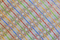 Bali, Indonesia.  Design Pattern on a Balinese Sarong.  Made in Thailand.