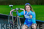 Almha Russell Killarney cyclist  who won a medal with Artane CC at the National Championships in Dublin over the weekend
