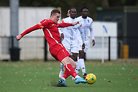Harry Gibbs of Aveley goes close during Romford vs Aveley, Pitching In Ishmian League North Division Football at Mayesbrook Park on 26th September 2020