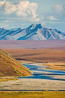 Sagavanirktok river, Philip Smith Mountains, Brooks Range, Alaska.